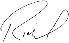Signature of Richard